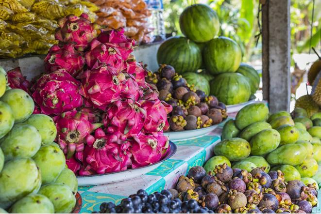 バリ島雨季の美味しいフルーツ