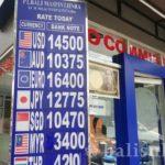 バリ島の通貨「インドネシア・ルピア」の両替