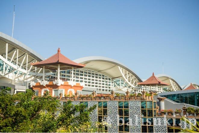 バリ島デンパサール国際空港