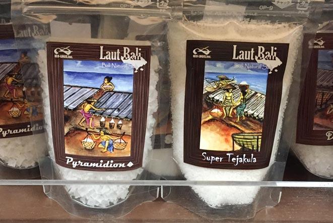 バリ島テジャクラの塩