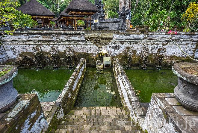 バリ島ゴアガジャ寺院の沐浴場